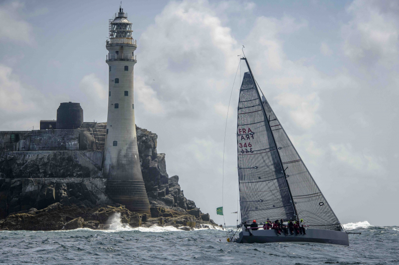 Past winners return to challenge for the 2021 Rolex Fastnet Race, including 2017 overall winner, Didier Gaudoux with his JND39 Lann Ael 2  © Kurt Arrigo/ROLEX