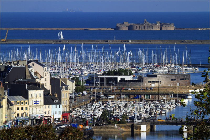 Port of Cherbourg ©JM Enault /Ville de Cherbourg en Cotentin