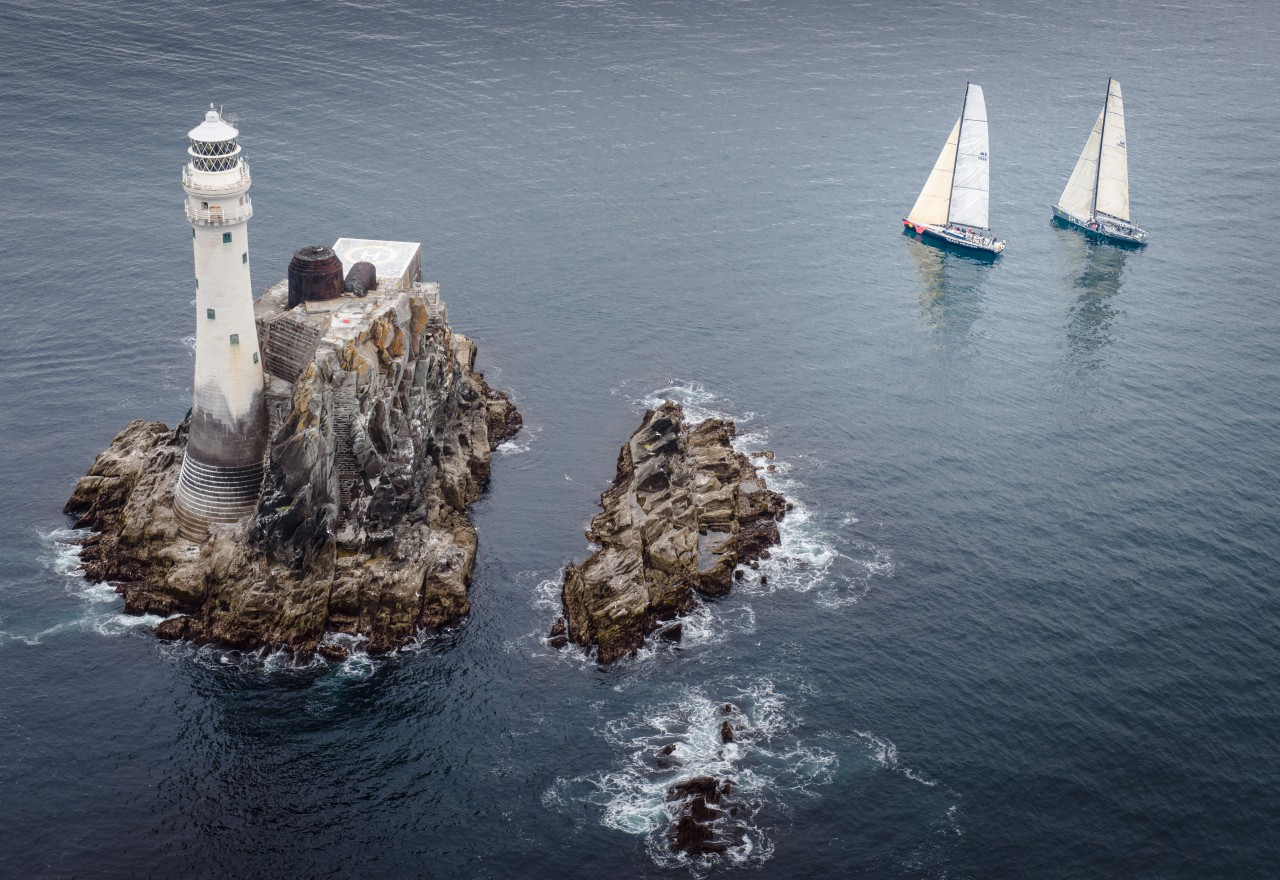 Light airs are forecast for the 46th edition of the Rolex Fastnet Race which sets off tomorrow from Cowes, Isle of Wight. Photo: Rolex/Kurt Arrigo