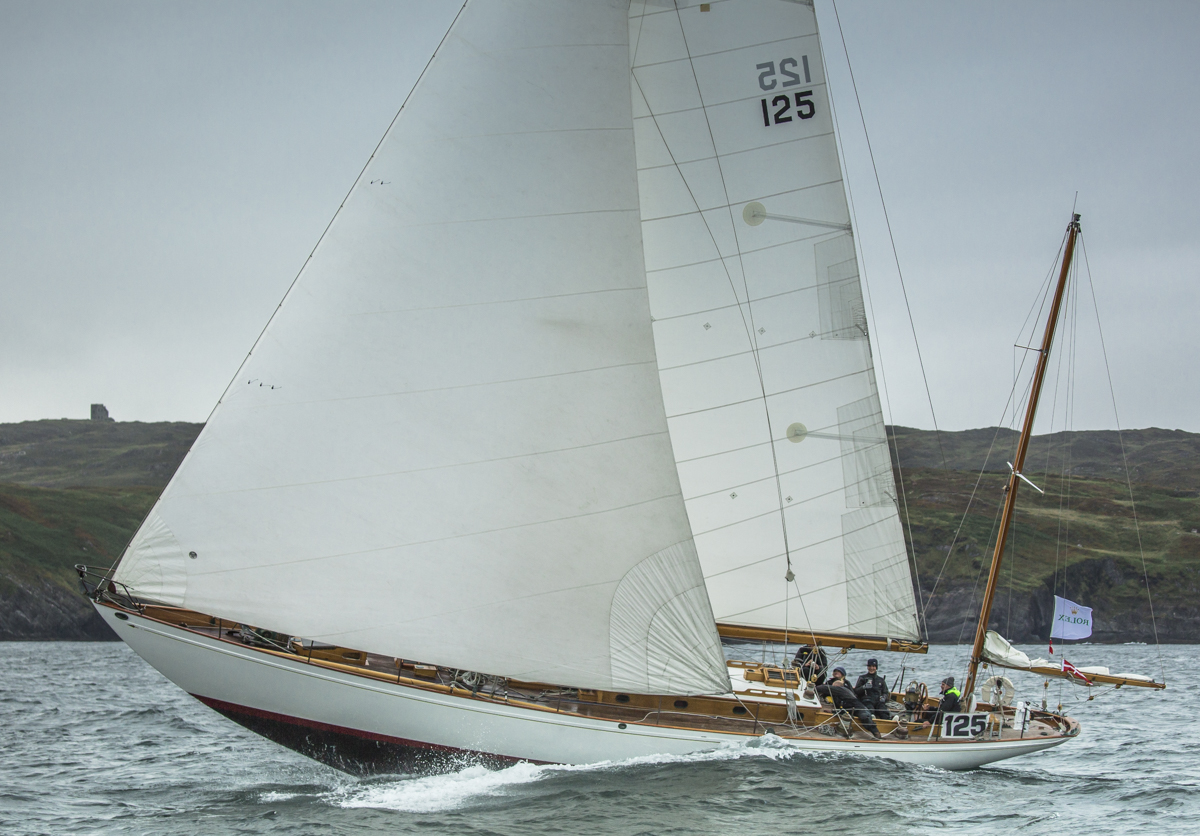 Argyll, S&S 57 owned by Griff Rhys Jones. Credit: Rolex/Daniel Forster