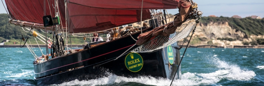 90 Years of history in the Rolex Fastnet Race