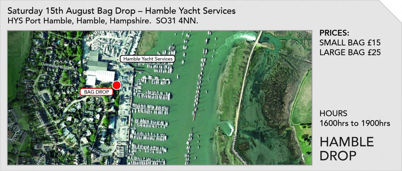 Bag Drop at Hamble Yacht Services