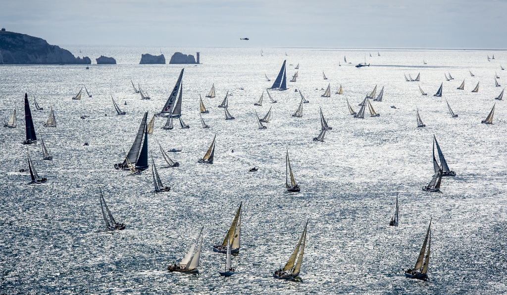 The 2017 Rolex Fastnet Race - Close to 400 boats in the combined IRC and non-IRC fleets will compete in the world's largest offshore race starting on Sunday 6th August © Rolex/Kurt Arrigo