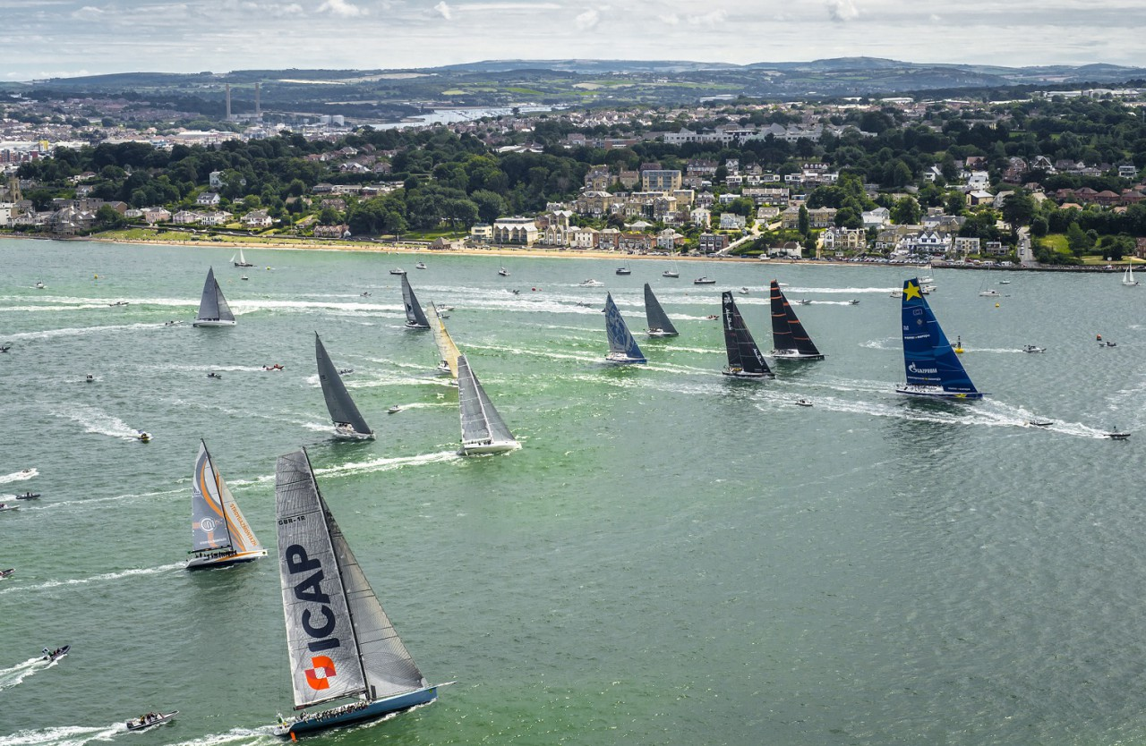 Yachts from around the world will converge on Cowes for the start of the 2017 Rolex Fastnet Race in August  © Rolex/Kurt Arrigo