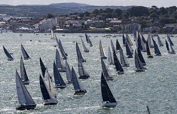 83 starters in IRC 3 made for a spectacular sight © Rolex/Carlo Borlenghi