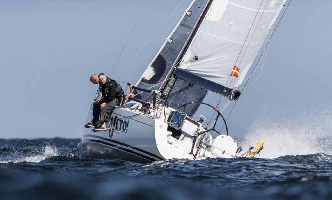 Ajeto! One of the Two Handed Class entries sailed by Dutch pair, Robin Verhoef and John Van Der Starre. Credit: Jasper van Staveren