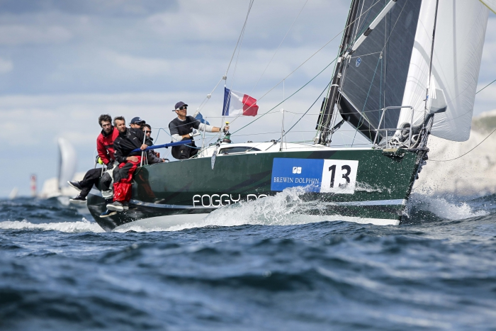 Noel Racine's JPK 10.10. Foggy Dew will give Night and Day a tough battle in this year's Rolex Fastnet Race  © Paul Wyeth/pwpictures.com