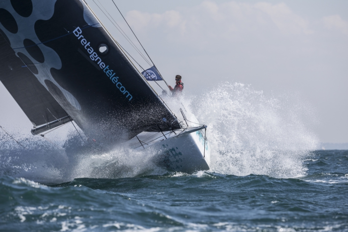 Second fastest French boat in the IRC fleet is Nicolas Groleau's Mach 45 Bretagne Telecom © Pierre Bouras