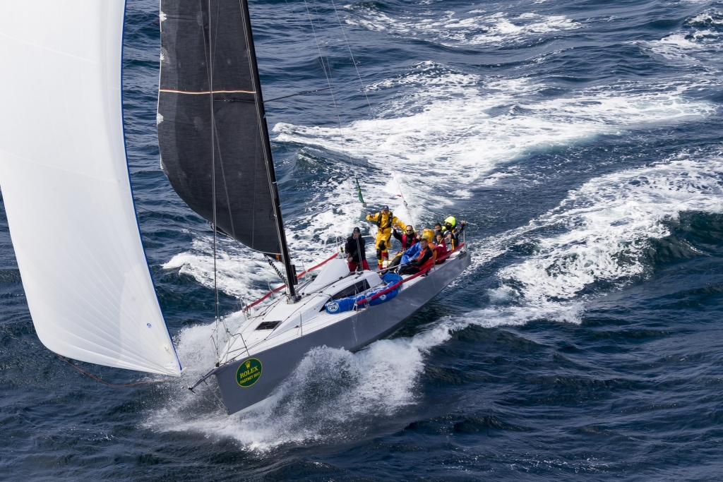 Didier Gaudoux and the crew of his JND39 Lann Ael 2 return as the defending champions  © Carlo Borlenghi/Rolex