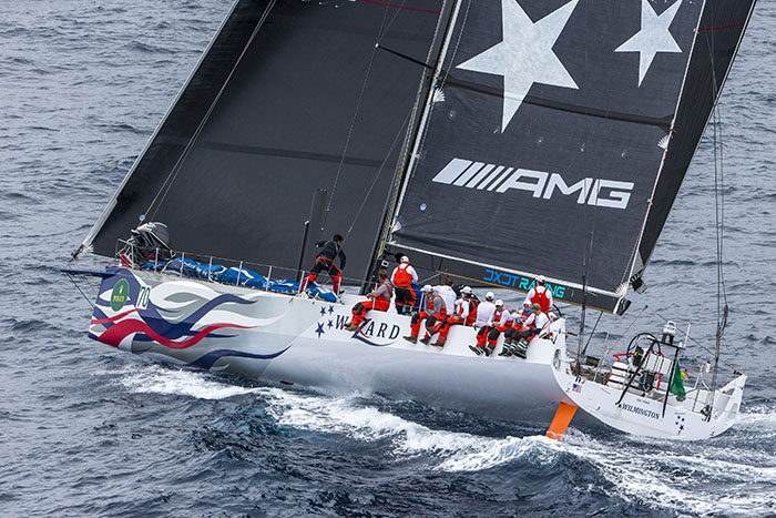 Wizard, the VO70 owned by David and Peter Askew and racing in IRC Zero