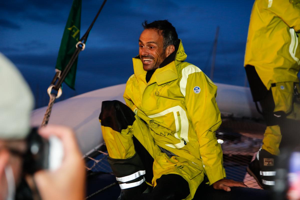 Co-skipper Franck Cammas © Paul Wyeth/pwpictures.com