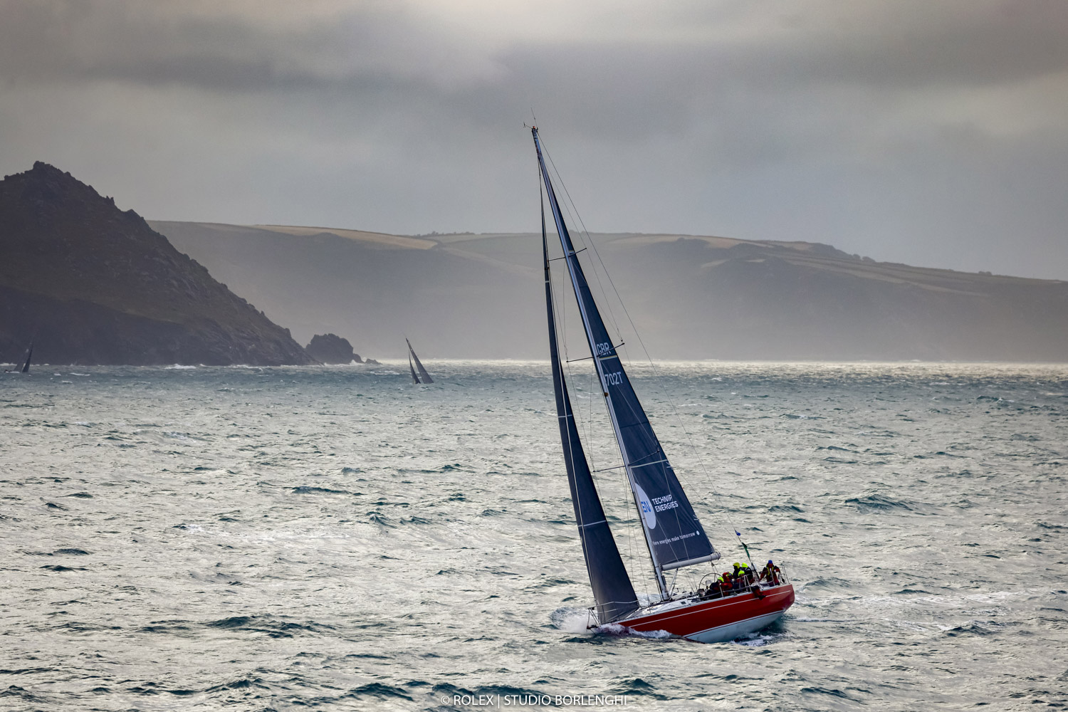 Ross Applebey's Lightwave 48 Scarlet Oyster sailing in IRC Two © Carlo Borlenghi/Rolex