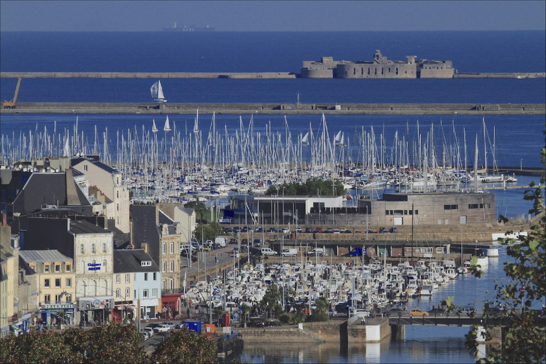 Cherbourg's Port Chantereyne will host the Rolex Fastnet Race fleet © JM enault ville de Cherbourg en Cotentin
