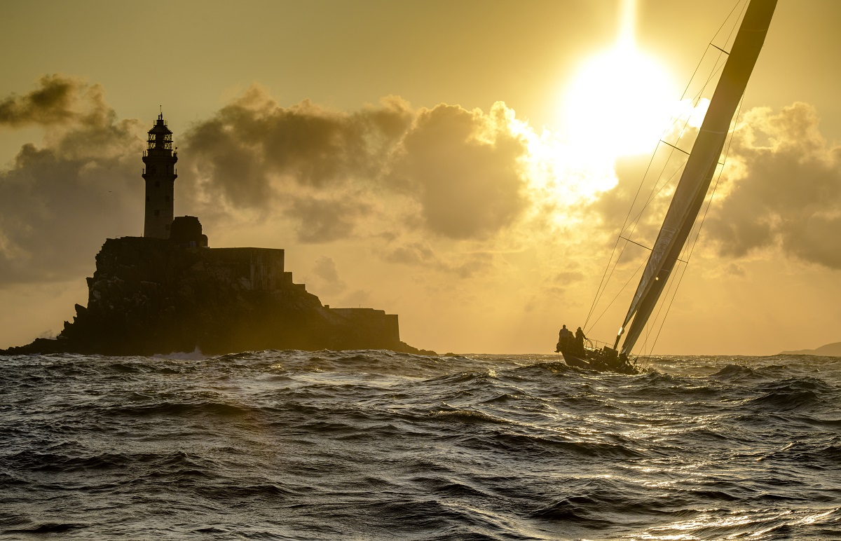 The legendary Fastnet Rock is the lure of Rolex Fastnet Race for all competitors © Kurt Arrigo/ROLEX