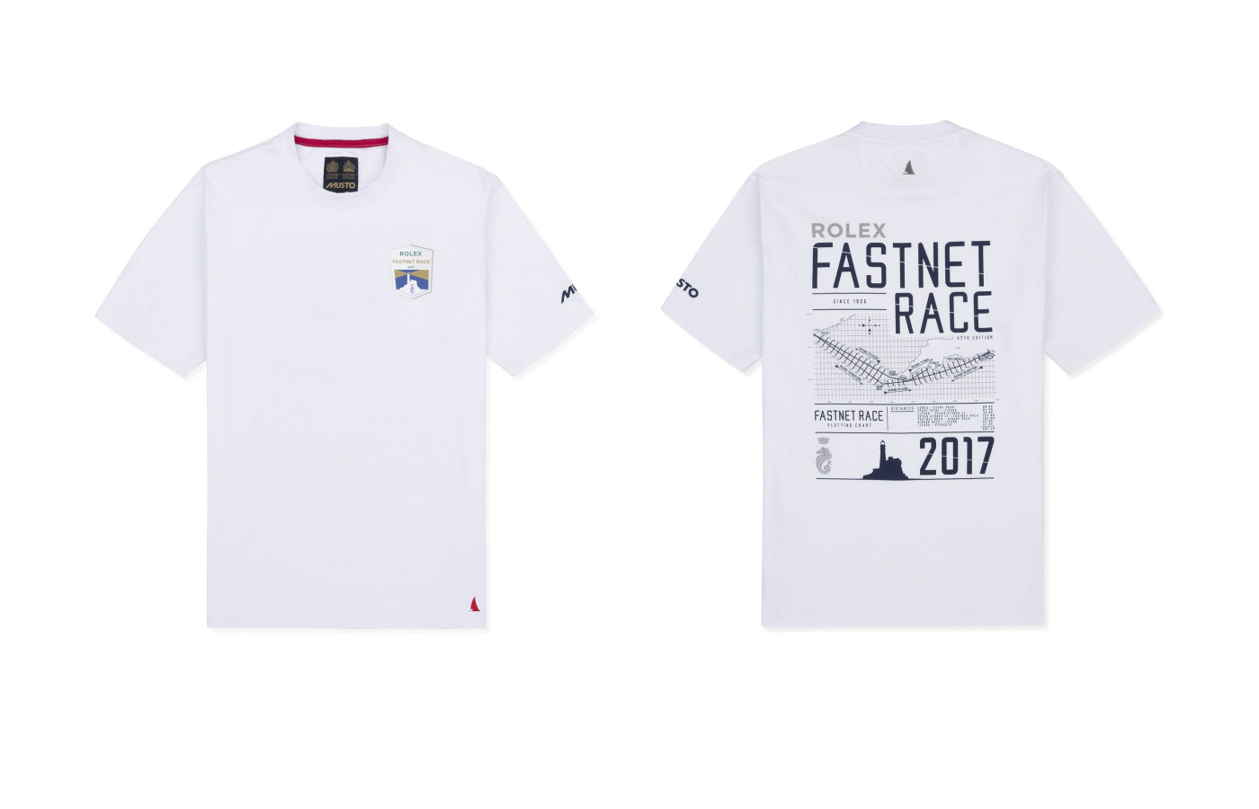 Fastnet Map-T-Shirt by MUSTO